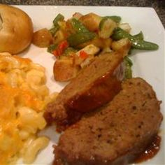 Melt-In-Your-Mouth Meat Loaf Allrecipes.com