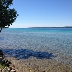 The lovely Torch Lake in Northern Michigan