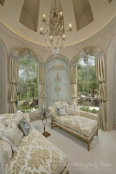 Such an elegant room!