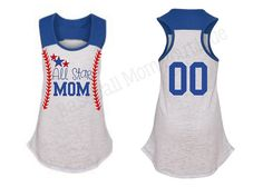 ALL STAR Baseball Stitches MOM Tank Top by BaseballMomBoutique, $32.99