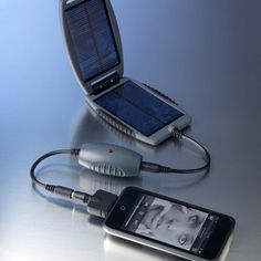 The Solar Monkey mobile phone charger is a cool gadget to have in your motorhome when you are out wild camping.