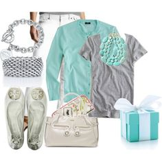 love the gray and teal together
