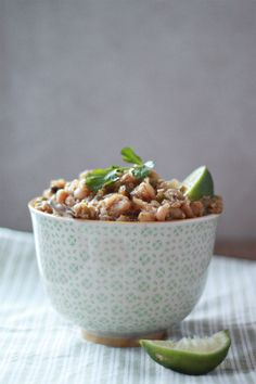 food, chilis, roast poblano, cooker quinoa, healthi