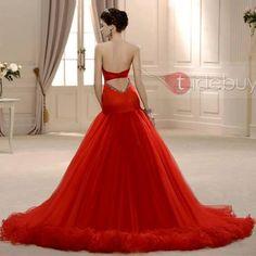 wow amazing red dress