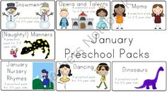 Jan-May Preschool Packs from LittleAdventuresPreschool on TeachersNotebook.com (1121 pages)  - Jan-May Preschool Lesson Plans and Printable Activity Pages
