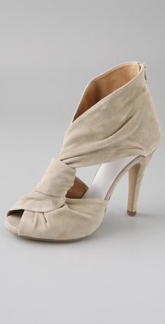 Maison Martin Margiela Twist Front Suede Sandals