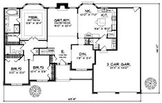 3000 Square Foot House Plans Ranch Style Homes 3000 Square Feet