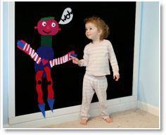 Citro2 ♥ http://felting.craftgossip.com/2013/04/05/felt-dinosaur-play-mat-and-a-giant-felt-board-tutorial/