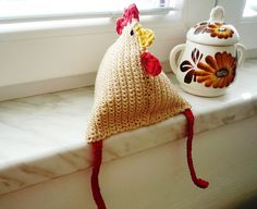 Easter Crochet Hen Pattern