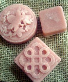 DIY cranberry fig solid sugar scrub