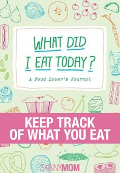 Keep track of your food and fitness with these great journals!