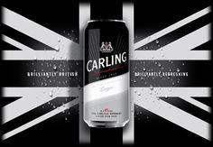Carling Launches 'Brilliantly British. Brilliantly Refreshing' Campaign by Echo – POPSOP.COM. Brand news. Brand design. Package design. Branding agencies. Brand experts