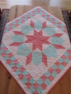 Swoon quilt block, consider the checkerboard border.