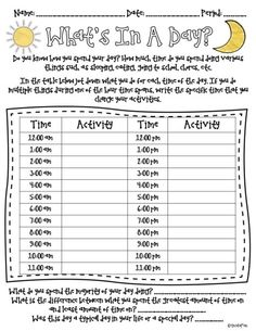 All in A Day's Work {MIRL Linky} with FREEBIE for you to use right away! Perfect for elapsed time, graphing, and fractions and percents.