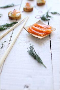 Saumon gravlax maison; une recette de chefnini