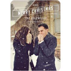 Love this idea for a Christmas Card ! :-)