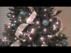 Como Decorar un Arbol de Navidad con Liston en tres pasos!