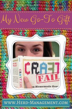 My new Go-To Gift: CraftFail the book!