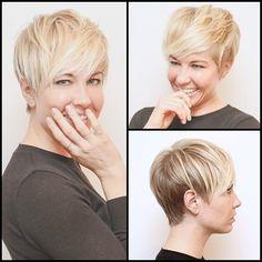 short hair, short crop, perfect short