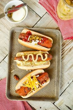 Charred Carrot Hot Dogs