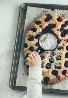 blackberry-basil focaccia bread