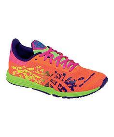Hot Pink & Flash Yellow GEL®-NoosaFAST Running Shoe - Women by ASICS on #zulily