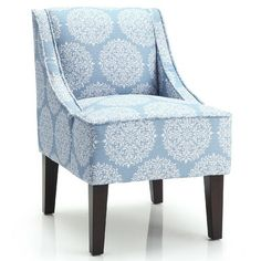Blue accent chairs on pinterest cream leather sofa accent chairs