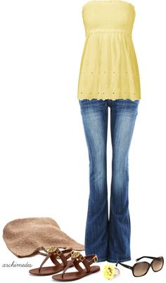 """""""Sunny"""" by archimedes16 ❤ liked on Polyvore"""
