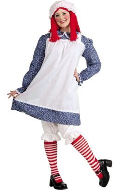 Raggedy Ann Costume for Adults-Party City