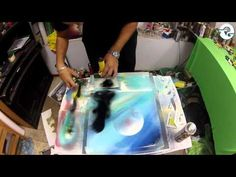 PERFECT TECHNICAL SPRAY PAINT ART by: Trasher