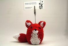 Card holder crochet