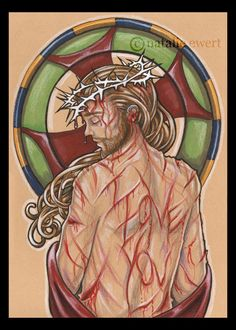 """The blood of Jesus Christ, His Son, cleanses us from all sins."" i like this pose for tattoo, different than the usual but still carries meaning"