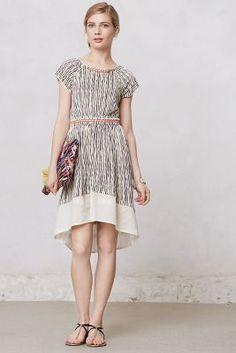 Rippled Manali Dress