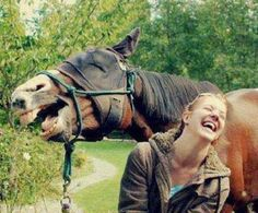 Laugh together.