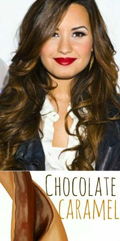 2014 Hair Trend: Chocolate Brown with Caramel Ribbons (Highlights) #hairtrends #chocolatebrown