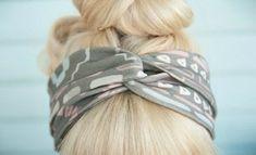 DIY Wrap Headband Tutorial