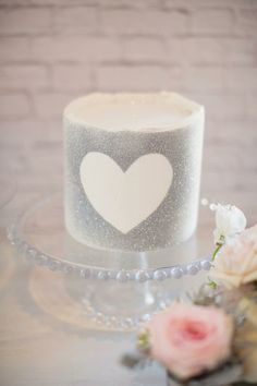 Glittered Heart Candle Decoration DIY