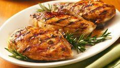 Balsamic-Glazed Grilled Chicken Breasts