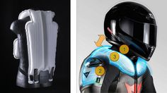 Airbag for moto