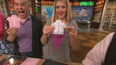 Clinton's Craft Corner: Shirt  Tie Father's Day Cards! #TheChew #DIY #Craft #FathersDayGift #GiftIdeas #Card #FathersDayCraft #FathersDayCard #HomemadeGifts