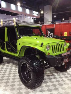 Jeep Wrangler Unlimited at SEMA 2012