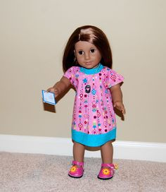 American Girl Doll size Printables ...letters, tissue boxes, shopping bags, and folders