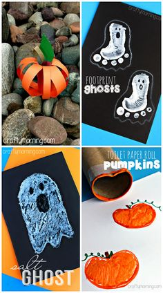 Creative Halloween Crafts for Kids to Make #Halloween art projects | CraftyMorning.com