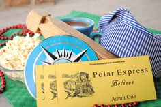 Polar Express Party and Printable Tickets