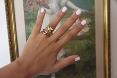 Love the nail color!