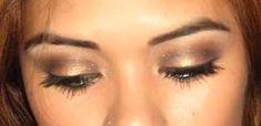 eye makeup, brown eye, makeup inspir, beauti, wedding makeup, hair, makeup idea, eyes, eye pop