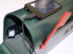 Postybell post box sensor - Located inside your post box, postybell is a device that sends an alert to your phone when you've got mail, even if your post box is in another country. GetdatGadget.com