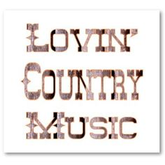Country Music - Click image to find more Film, Music & Books Pinterest pins