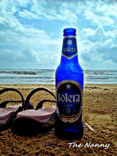 Cerveza Solera Light y playa, Venezuela