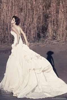 julia kontogruni bridal 2013 t back wedding dress